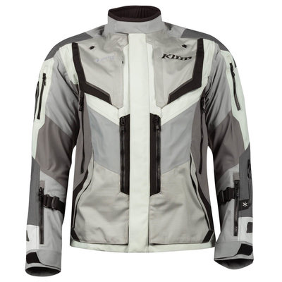 KLIM Badlands Pro Motorcycle Jacket - Cool Gray