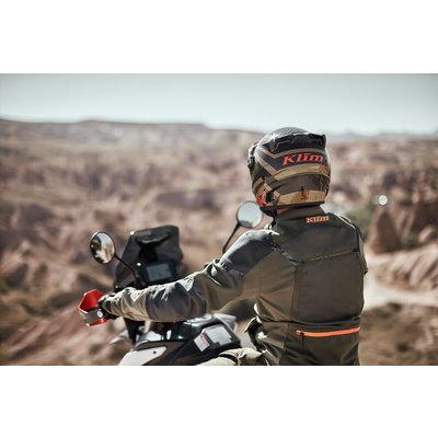 KLIM Baja S4 Motorjas - Cool Gray - Red Rock