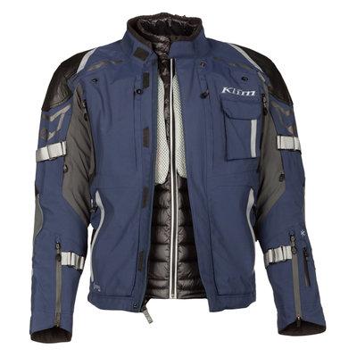 KLIM 2021 Kodiak Motorcycle Jacket - Navy Blue