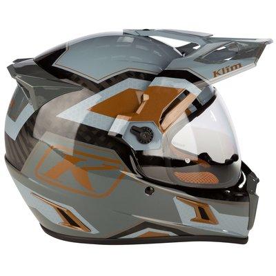 KLIM Krios Pro  Adventure Motorhelm - Rally Metallic Bronze