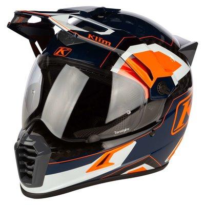 KLIM Krios Pro  Adventure Motorhelm - Rally Striking Orange