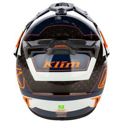KLIM Krios Pro  Adventure Motorcycle Helmet - Rally Striking Orange