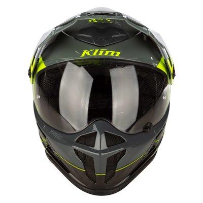 KLIM Krios Karbon Adventure Motorhelm - Covert - High-Vis