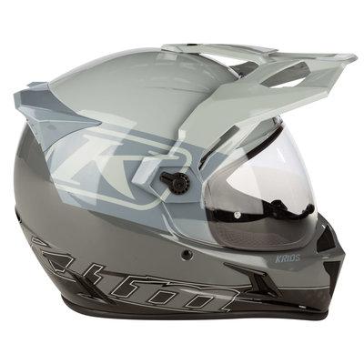 KLIM Krios Karbon Adventure Motorhelm - Covert Cool Gray