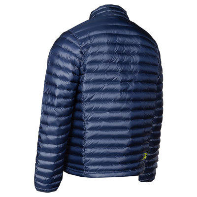 KLIM Maverick Down Jacket - Navy Blue High-Vis