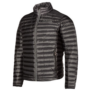 KLIM Maverick Down Jacket - Asphalt - Black