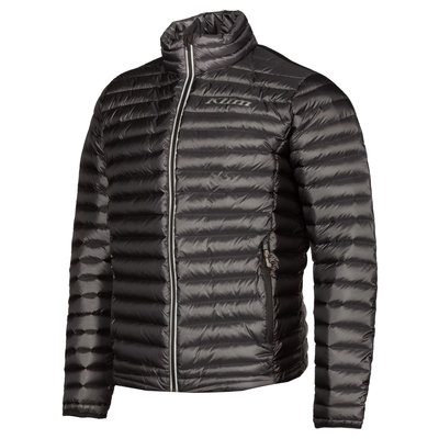 KLIM Maverick Down Jacket - Asphalt - Black