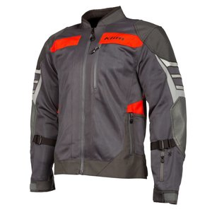 KLIM Induction Pro Jacket - Asphalt - Redrock