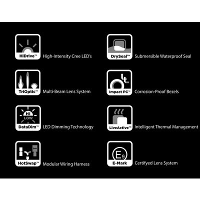 Denali  D2 LED Light Kit with DataDim™ Technology