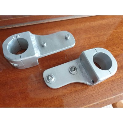 Outback Motortek CRF1100 Africa Twin OEM Auxiliary Light Mounting Brackets