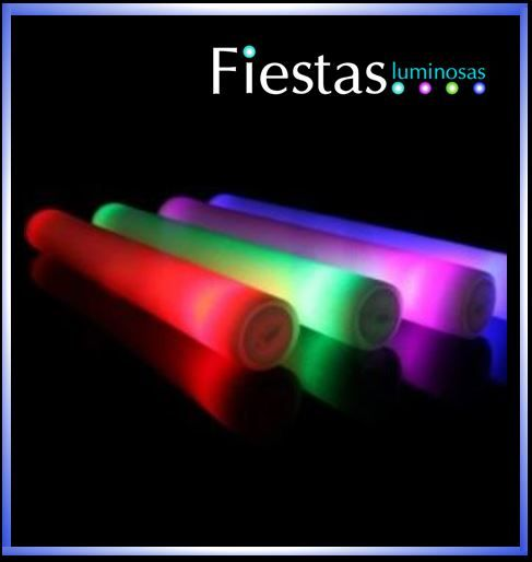 LED Foam Sticks  - (10 uds)