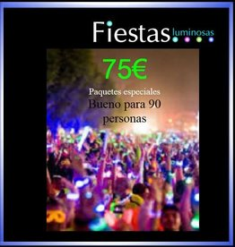 Fiestas luminosas 75€ party packs