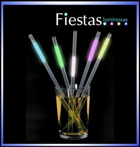 Glowing Straws (packs of 25 pcs)