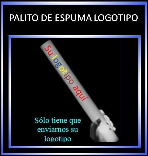 Palito de espuma con Logotipo (100 uds )