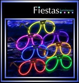 Luminous aviator glasses   (10 uds)