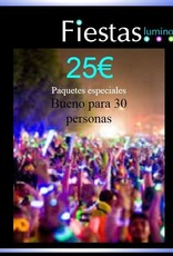 PACKS AHORRO DE FIESTASLUMINOSAS 25€