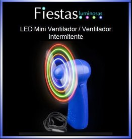 LED  Mini Ventilador / Ventilador Intermitente