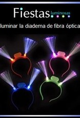 Light up LED Fibre Optic Headband