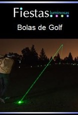 Light up golf balls