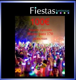 fiestasluminosas  luminosas neon 100€ party packs