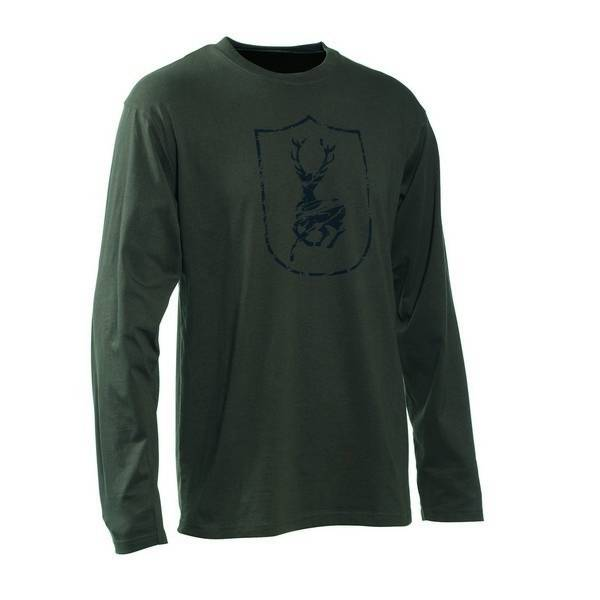 Deerhunter Logo T-shirt L/S Shield Logo