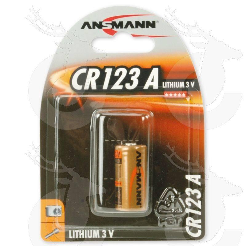 Ansmann Lithium 3V CR123A