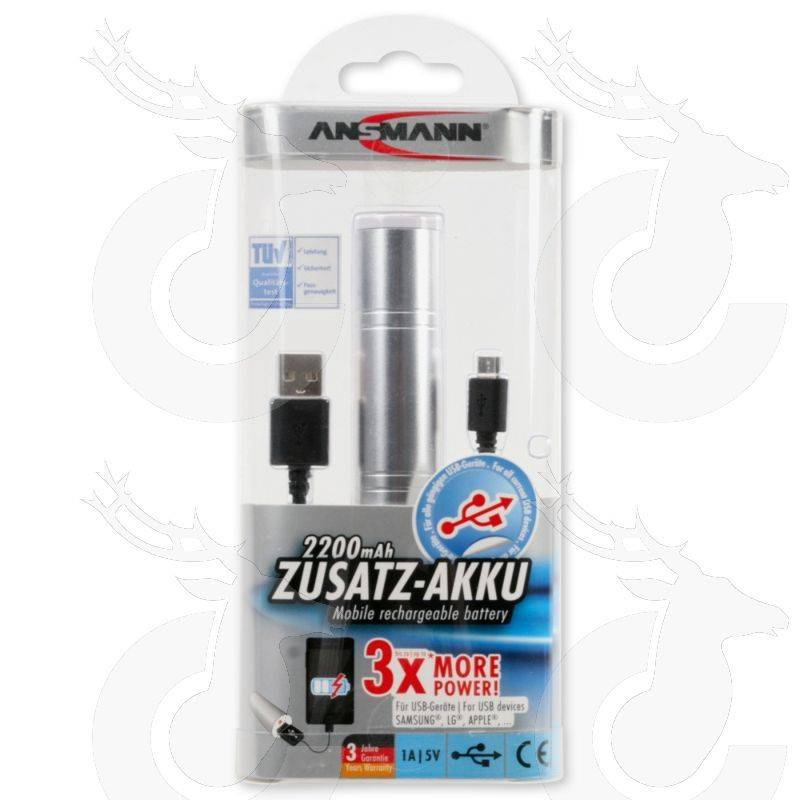 Ansmann 2200mAh Zusatz-Akku