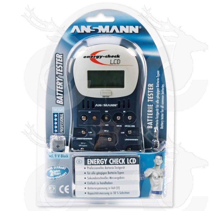 Ansmann Testgerät Energy Check LCD