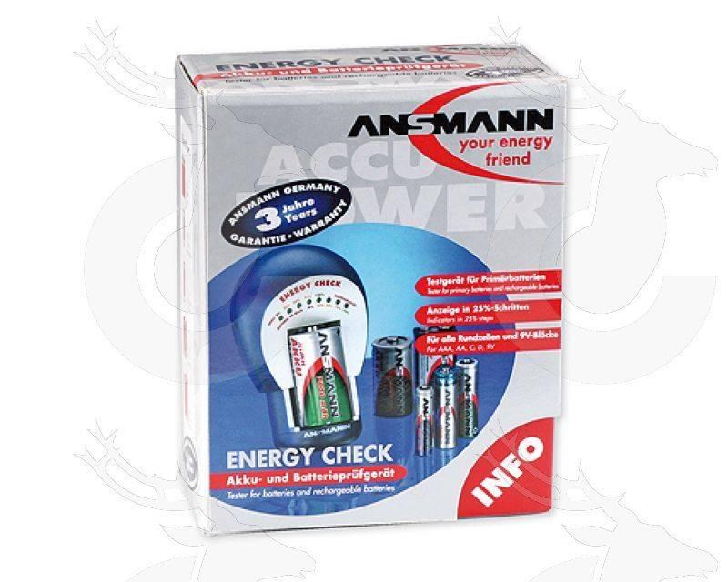 Ansmann Energy check