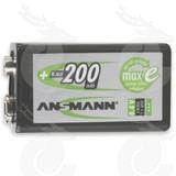Ansmann NiMH 200mAh 9 V Block