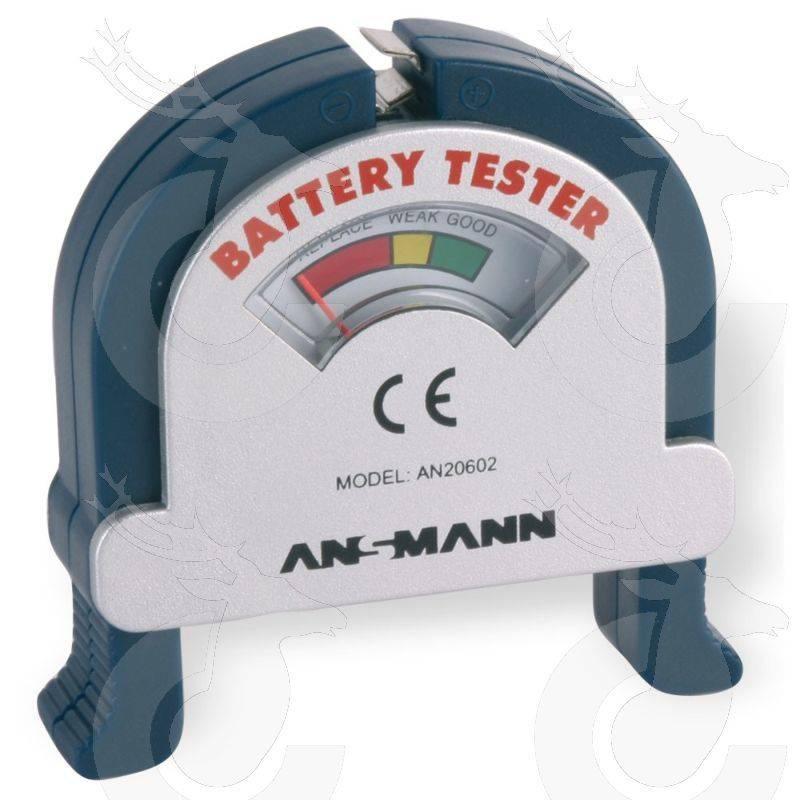 Ansmann Testgerät Battery Tester