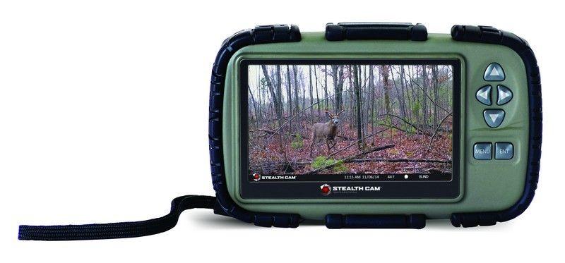 Stealth Cam SD Card Reader 4.3 LCD Screen