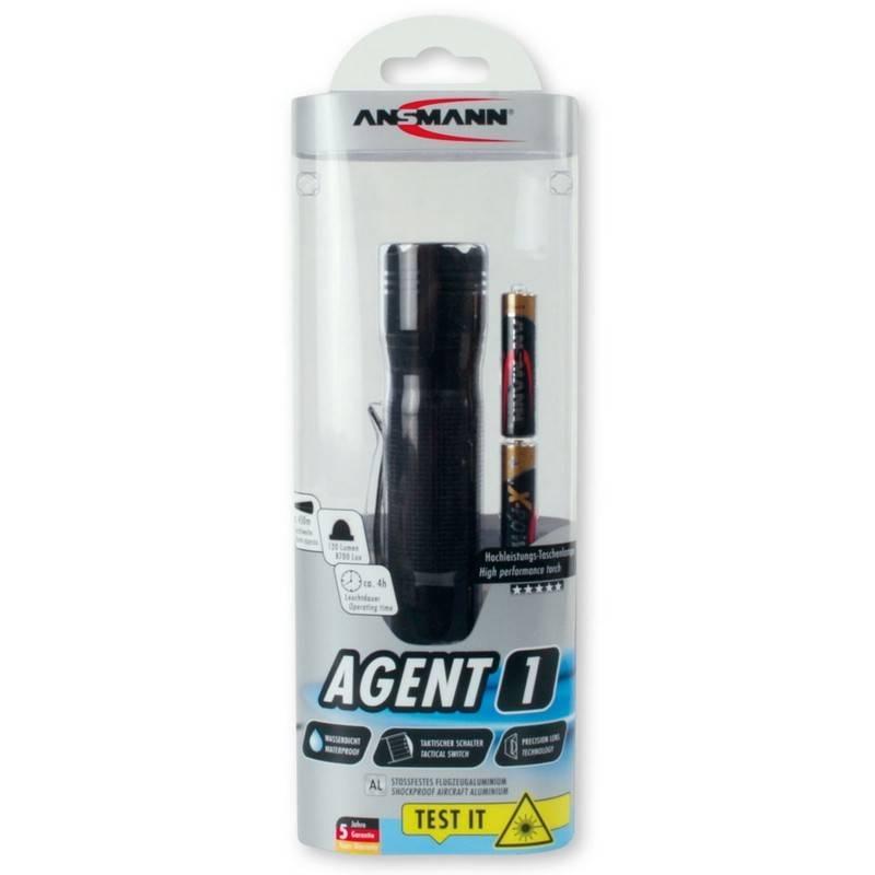 Ansmann Taschenlampe Agent 1