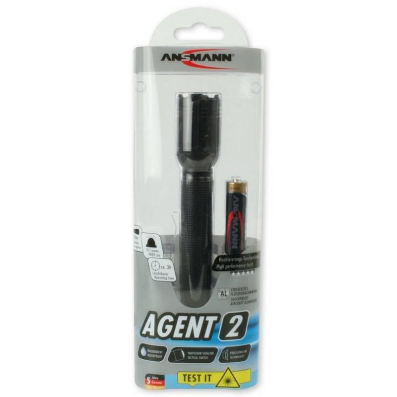Ansmann Taschenlampe Agent 2