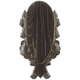 Eurohunt Deer shield 4 carved in oak