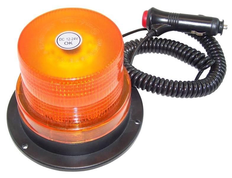 Euregiohunt Rundumkennleuchte Magnetmontage 60er LED 12/24V