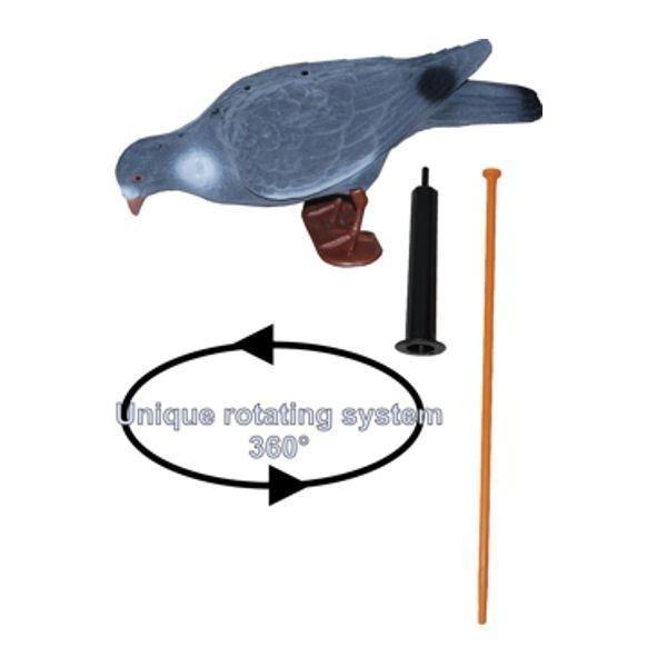 ProLoo Lokvogel duif XL 40cm geflockt + PIP