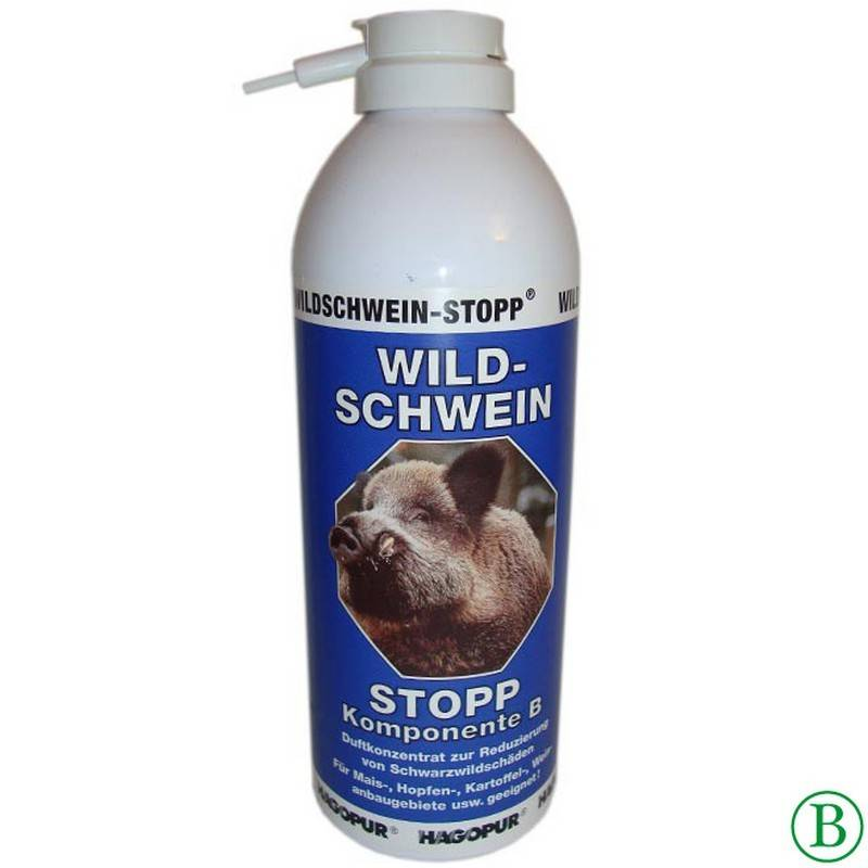 Hagopur Wildschwein-Stopp Blau = Komp. B