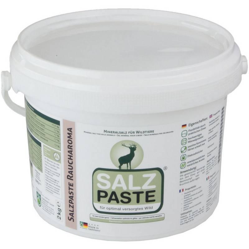 Eurohunt Salzpaste 2kg Eimer