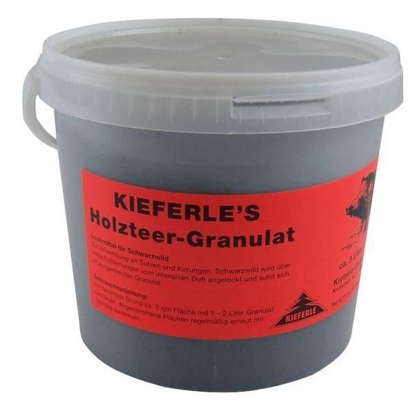 Kieferle Houtteer korrels 5ltr