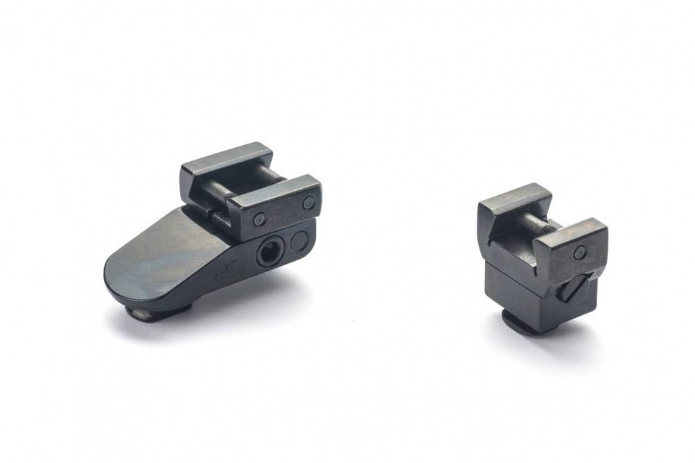 Rusan Pivot mount without bases rail H=17mm