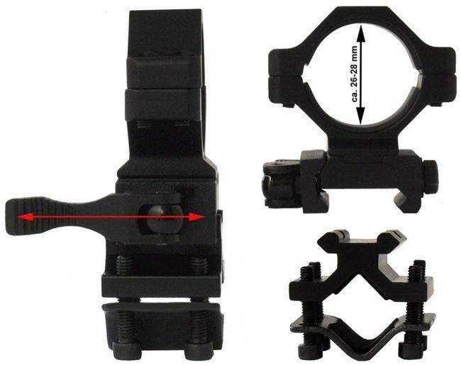 Lensolux Universele Snelmontage X-30