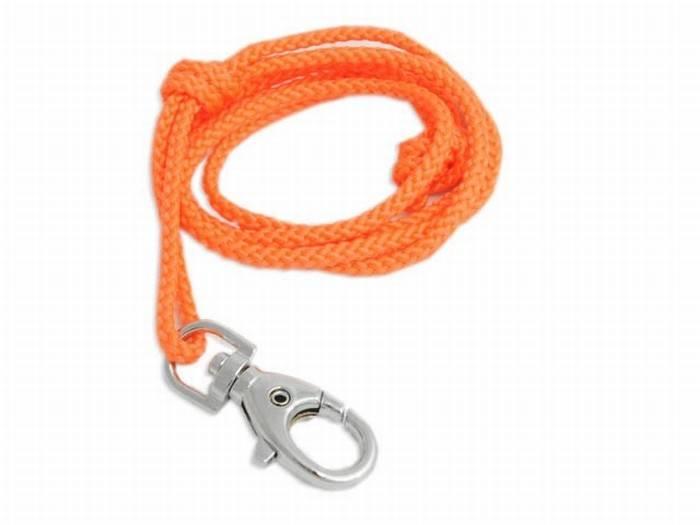 ACME Fluitkoord Nylon Musketonhaakje 100cm Oranje