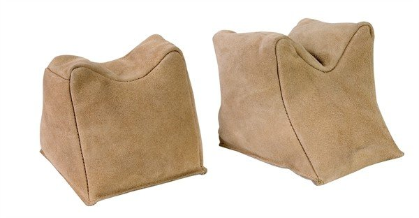 Champion Target Suede sand bags, prefilled pair
