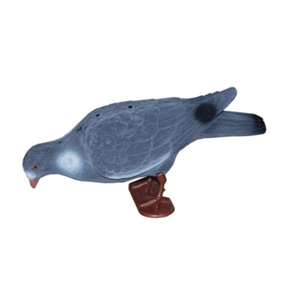 ProLoo Lokvogel volle duif XL 40cm geflockt