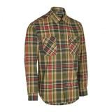 Deerhunter Gabriel Shirt w. Suede Details