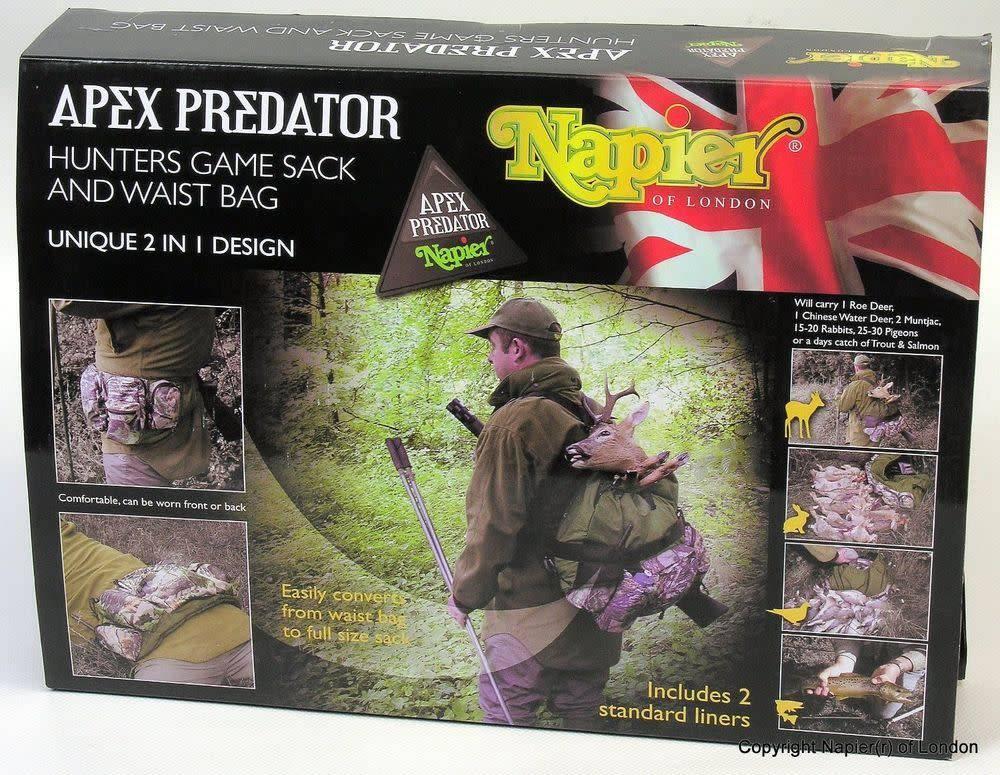 Napier Hunters Game Sack and  Waist Bag