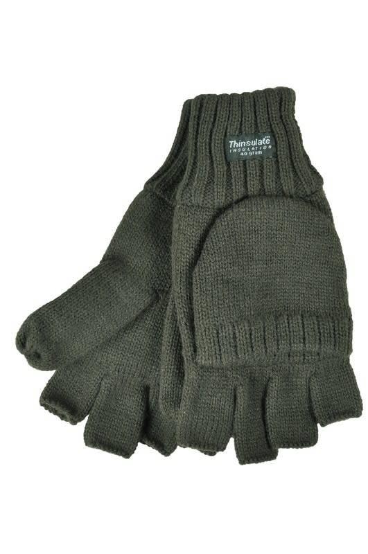 Skogen Strick Handschuh ohne Fingerkuppen