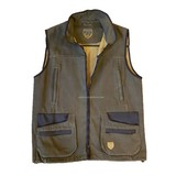 "Hubertus Vest Outdoor ""Canvas"""