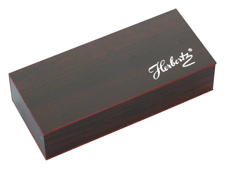 Herbertz Taschenmesser, AISI 420, Pakkaholz, Geschenkbox